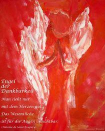 Engel der Dankbarkeit  (Dezember 2011) von Susanne © Blauth