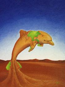 Wüstendelphin von Harald Hüttl