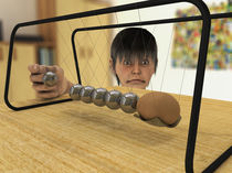 Newtons Cradle by Oliver Lege
