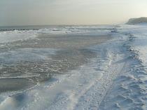 Winter an der Ostsee von Wolfgang Wende
