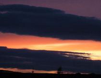 Sonnenuntergang by Wolfgang Wende