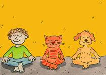 meditation,yoga,zen, by sabine voigt