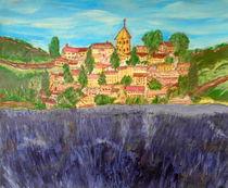 Lavendelfeld bei Gordes, Provance von Sylvia W.