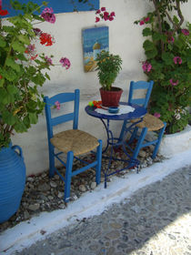 blauer Stuhl by shfoto