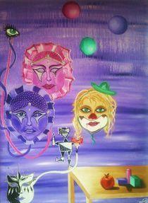Masken by Pia-Susann Roese