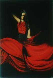 Flamencotänzerin by Pia-Susann Roese