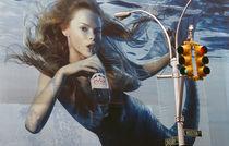 New York City - Werbung für Evian by Doris Krüger