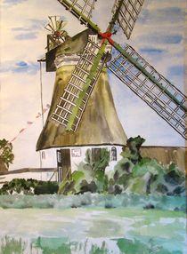 Mühle auf Föhr von Ka Wegner