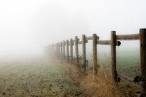 Nebel-Zaun...das Unbekannte! by Michael S. Schwarzer