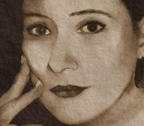 Selbstporträt von Christine Lamade