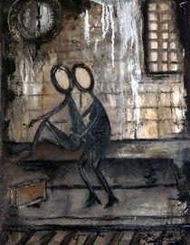 noch ne Zigarette und dann in`Krieg by Christine Lamade