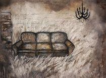 Sofa im Kornfeld by Christine Lamade