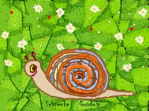 Serie kinderzimmer Schnecke Gundula von Susanne Surup