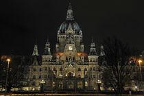 Rathaus Nacht von Oliver Gräfe