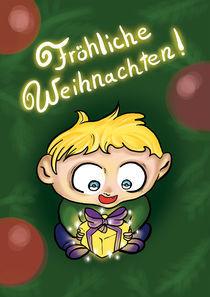 Fröhliche Weihnachten! by Olga Hopfauf