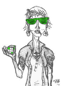 hipsters like rubix cubes von Sarah Haskins