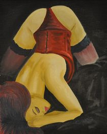 Im Bett by Edmond Marinkovic
