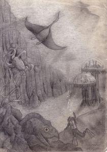 Unterwasser von Edmond Marinkovic