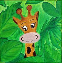 Kinderzimmer-Dschungelserie Giraffe von Petra Koob