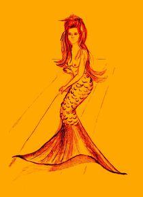 Meerjungfrau von Sonja Angela Ziehr