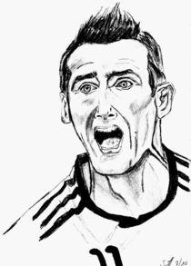 'Miroslav Klose' von Sonja Angela Ziehr