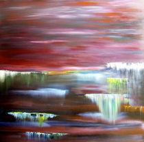 Waterfalls in paradise von abstrakt