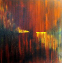 Fire on Water von abstrakt