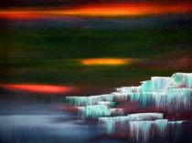 Waterfalls 1 von abstrakt