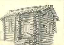 altes Haus 1 von Oleg Kappes