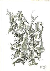 Menschenbäume von Oleg Kappes