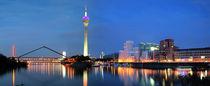 Skyline - Düsseldorf by Städtecollagen Lehmann