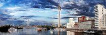 Düsseldorf gemalt  von Städtecollagen Lehmann