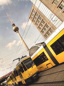 Alexanderplatz - Berlin  by Städtecollagen Lehmann