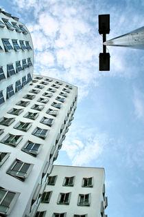 Gehry Düsseldorf  von Städtecollagen Lehmann