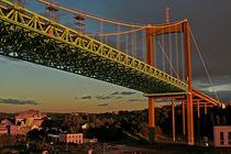 Bridge Göteborg  von Städtecollagen Lehmann