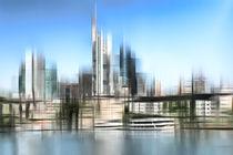 Skyline Frankfurt  by annette nettesart