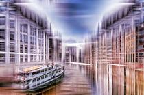 Hamburg - Speicherstadt  von Städtecollagen Lehmann