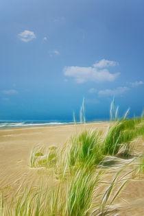 Nordsee   Strand  von Städtecollagen Lehmann