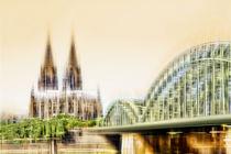 Skyline - Köln  by Städtecollagen Lehmann