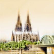 Köln Skyline  von Städtecollagen Lehmann