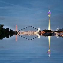Typisch Düsseldorf  by Städtecollagen Lehmann