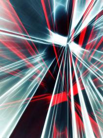 Red Stripe  von Städtecollagen Lehmann