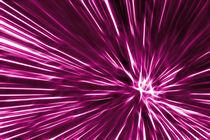 Pink Line von Städtecollagen Lehmann