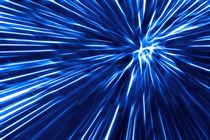 Blue Line  von Städtecollagen Lehmann