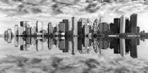 Skyline - New York  by Städtecollagen Lehmann