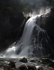 Wasserfall in den Alpen von Wolfgang Dufner