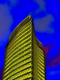 El Torre del Agua en amarillo by aw-anja-bronner-art