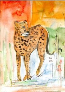 Wildkatze von Annegret Hoffmann