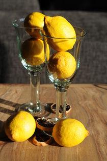 Zitronen im Glas von Sabine Zankl