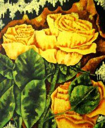 Gelbe Rosen von Achim Knorr